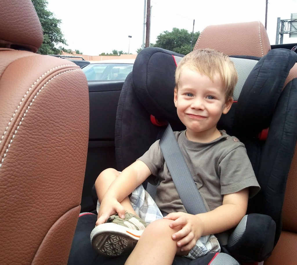 New state law will mandate booster seats