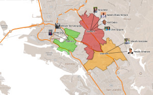 School Board Candidates Interactive Map