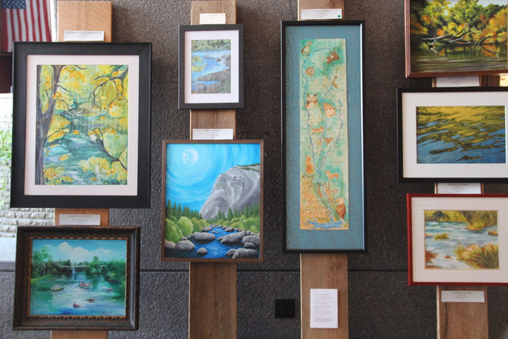 Mokelumne art exhibition travels to Oakland to share river's beauty and raise awareness on water conservation