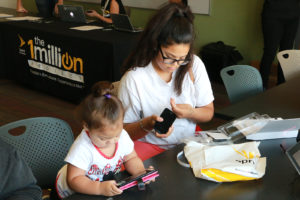 Ten devices were given out on Friday, October 13th at the Oakland Public Library.