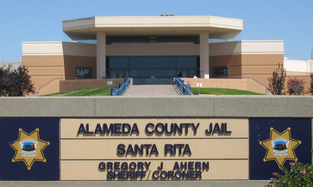 The Alameda County Sheriff's Office (ACSO) manages and staffs its Santa Rita jail with ACSO deputies. Four former deputies allegedly assaulted several inmates in 2016, a new federal lawsuit claims.